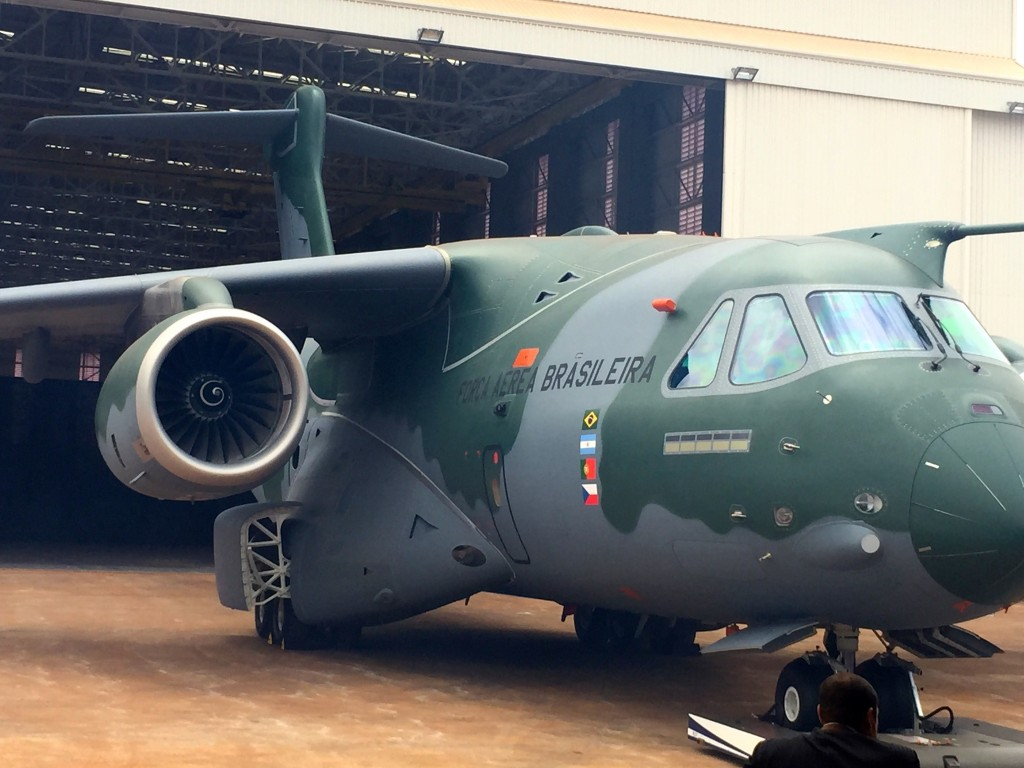 EMBRAER KC-390 Roll Out – Brazil